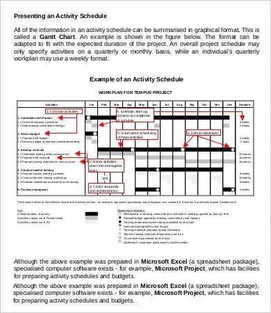 Project Schedule Template - 9+ Free Sample, Example, Format Free