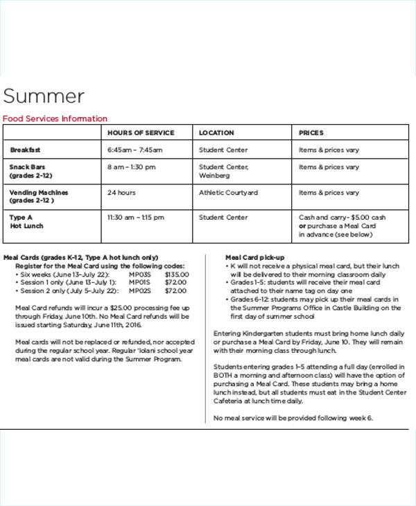 7+Homeschool Schedule Templates Free  Premium Templates