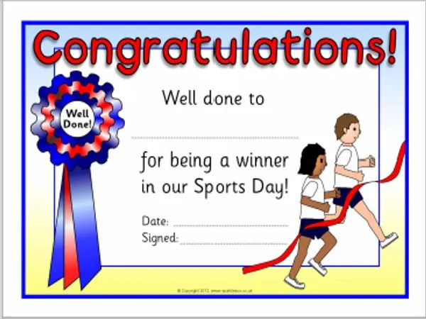 Sports Award Templates - 9+ Free Word, PDF, PSD Documents Download - award templates