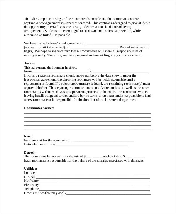 387 Best Animals I Love Images On Pinterest Real Estate Forms - roommate agreement form