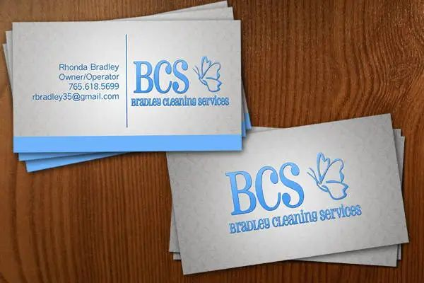 cleaning business cards templates