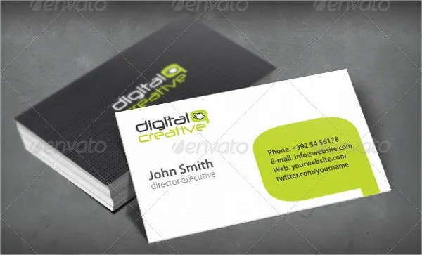 Digital Business Card - 5+ Free PSD, Vector AI, EPS Format Download