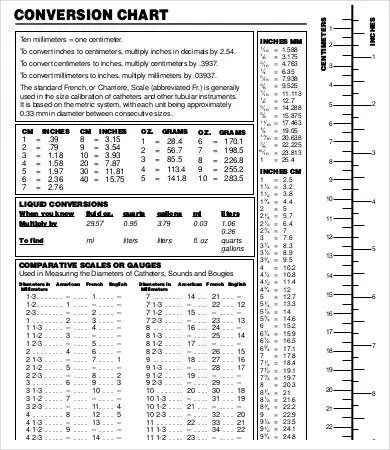 Editable Liquid Measurement Chart - 9+ Free Word, PDF Documents - Liquid Measurements Chart