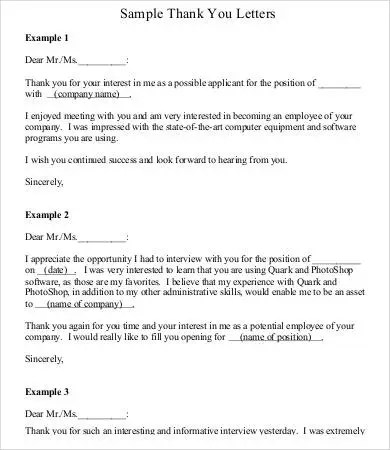 Thank You Letter To Boss Employer Thank You Letter To Boss Thank - thank you note to employee
