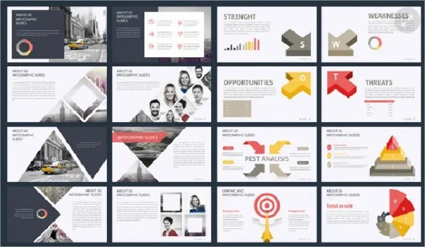 9+ Awesome Business Powerpoint Templates Free  Premium Templates