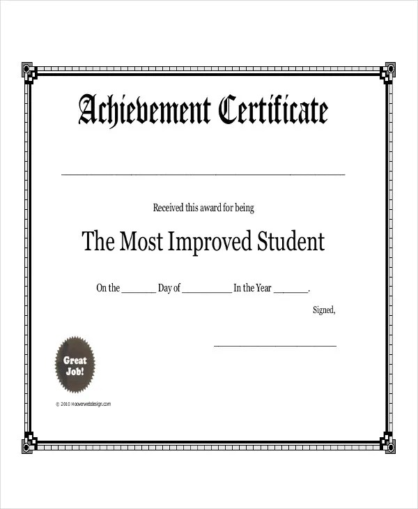 Student Award Templates - 9+ Free Word, Excel, PDF Documents - award templates