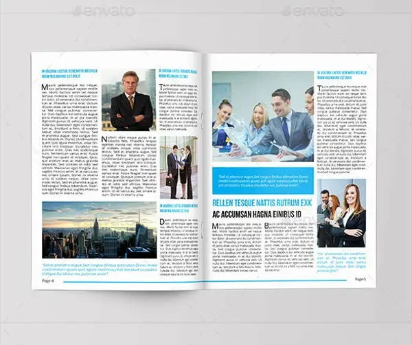 8+ Corporate Newsletter Templates - Printable PSD, AI, Indesign