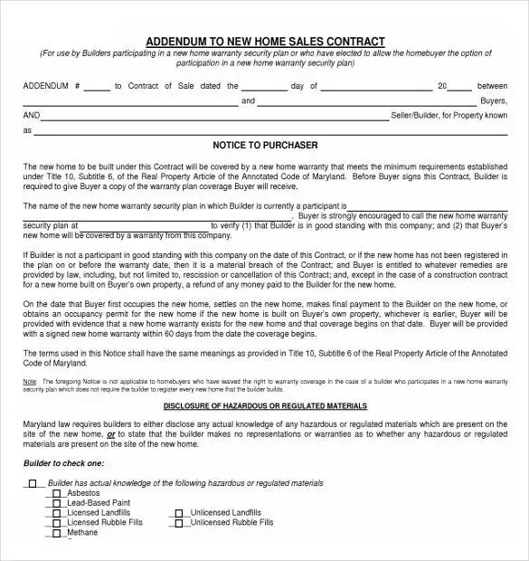 22+ Sales Contract Templates - Free Sample, Example, Format Download - Home Sales Contract