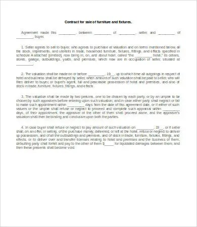 22+ Sales Contract Templates - Free Sample, Example, Format Download - business sale contract