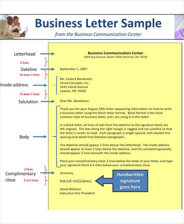 7+ Business Letterhead Format Free  Premium Templates