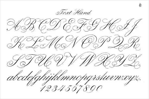 8+ Fancy Cursive Letters - JPG, Vector EPS, AI Illustrator Free