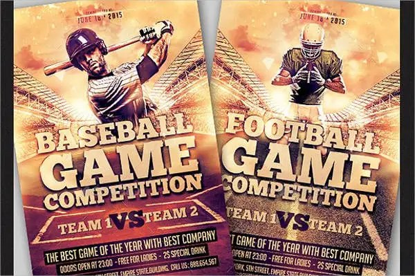 Baseball Flyers - 13+ Free PSD, Vector AI, EPS Format Download