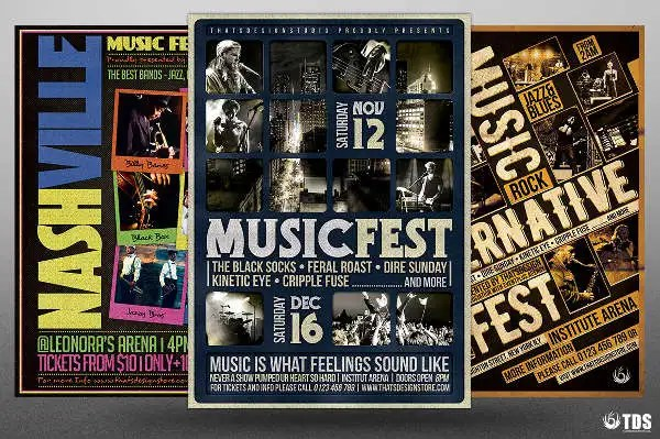 9+ Festival Flyers - Free Sample, Example, Format Download Free - free sample flyers