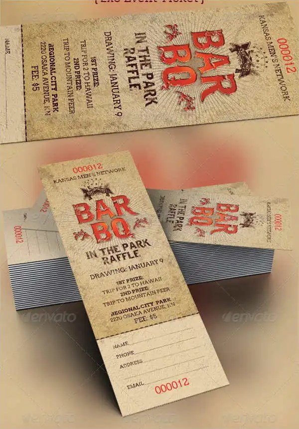 Free Ticket Template - 9+ Free PSD, Vector AI, EPS Format Download