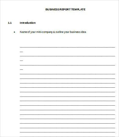 Professional Report Template Word - 24+ Free Sample, Example, Format