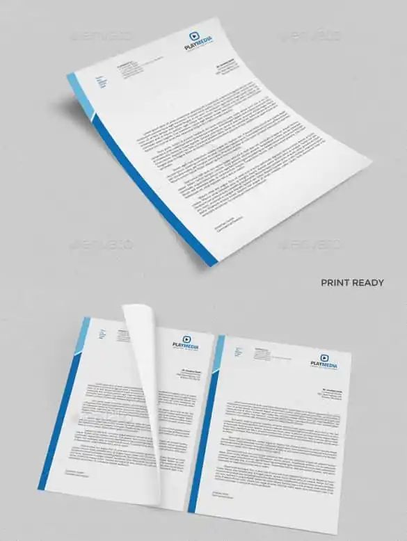 ms word letterhead templates free download