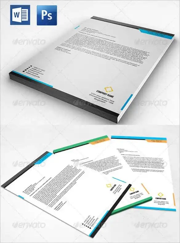 31+ Word Letterhead Templates - Free Samples, Examples, Format
