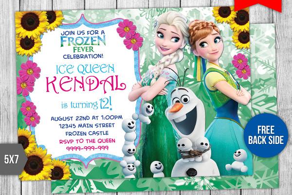 11+ Disney Invitation Designs  Templates - PSD, AI Free  Premium