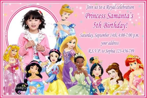 9+ Disney Invitation Templates - Free Sample, Example, Format - format for birthday invitation