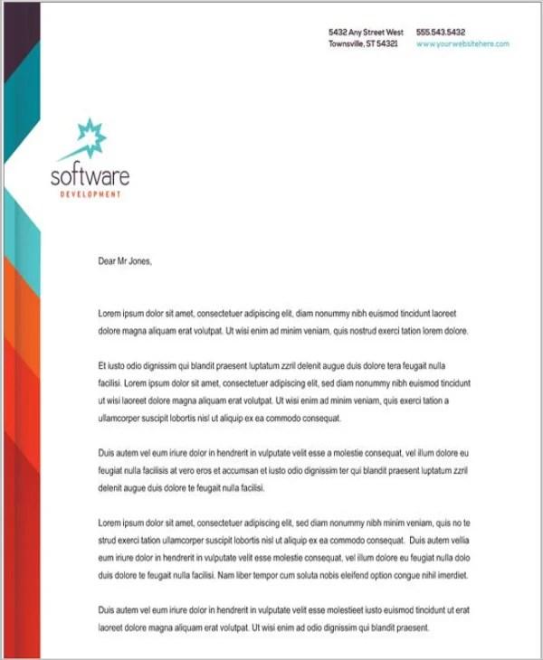 5+ Company Letterhead Templates Word Free  Premium Templates - company letterhead word template