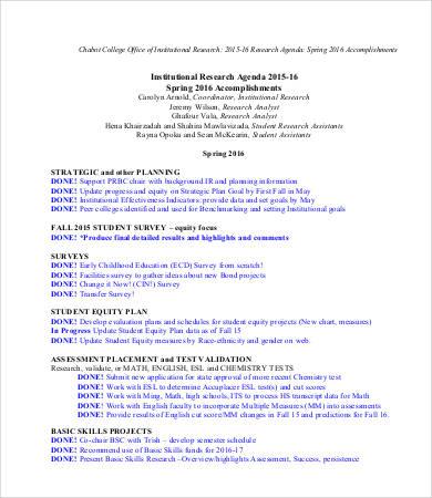 Research Agenda Template | kicksneakers.co