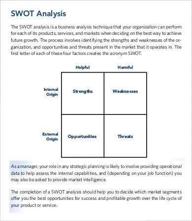 Organizational Analysis Template - 9+ Free Sample, Example, Format - organizational assessment template