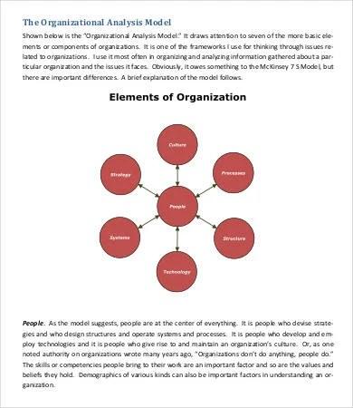 Organizational Assessment Template Kicksneakers