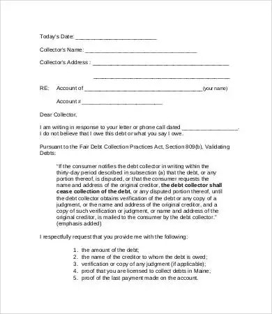 11+ Collection Letter Templates - Google Docs, MS Word, Apple Pages