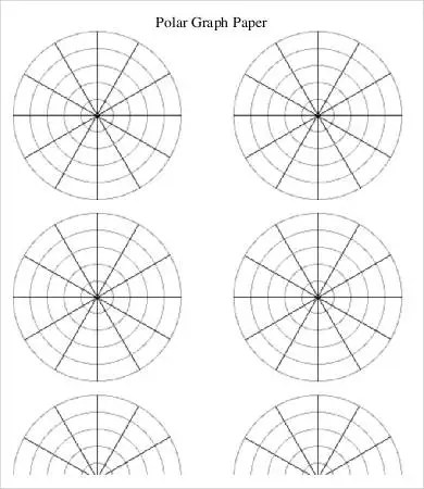 Polar Graph Paper Template - 6+ Free PDF Documents Download Free - polar graph paper