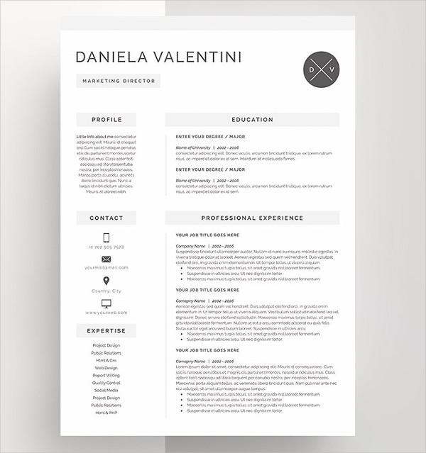 Unique Resumes - Free PSD, WORD, PDF Document Download Free - unique resumes