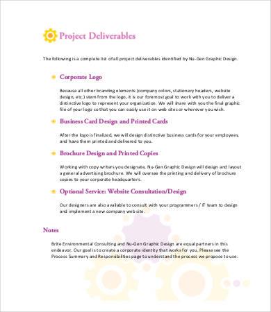 Design Proposal - 8+ Free Word, PDF Documents Download Free