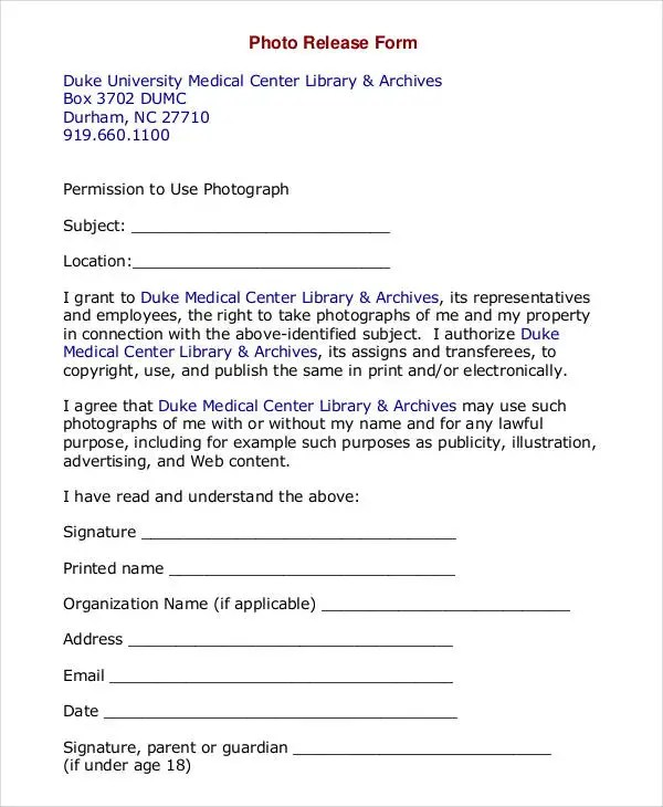 legal waiver form templates 69 Legal waiver form templates