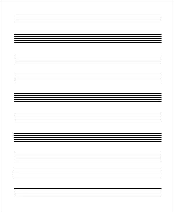 blank sheet music printable
