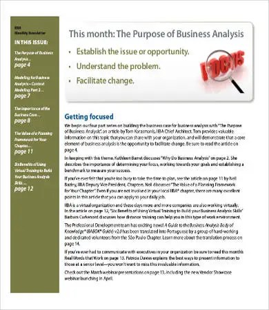 Business Newsletter - 6+ Free PDF Documents Download Free