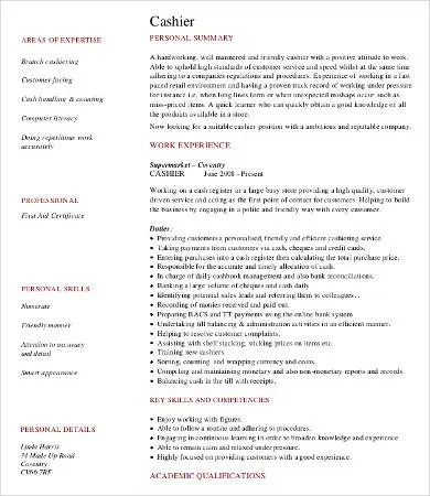 Work Experience Resume -9+ Free Word, PDF Documents Download Free