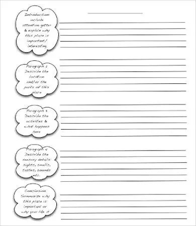 Descriptive Essay Template - 8+ Free Word, PDF Documents Download - writing template