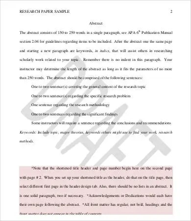 Research Proposal Format - 7+ Free PDF Documents Download Free
