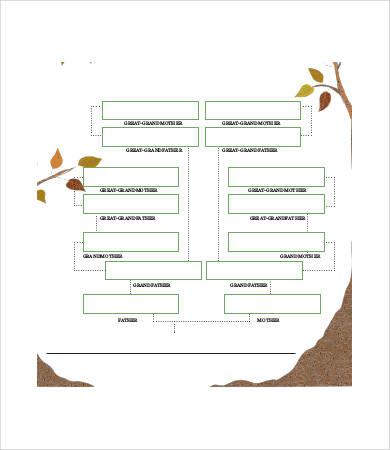 Blank Royal Family Tree Template - 7+ Free PDF Documents Download - blank family tree template