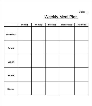 9+ Printable Weekly Calendar Templates \u2013 Free Sample, Example Format