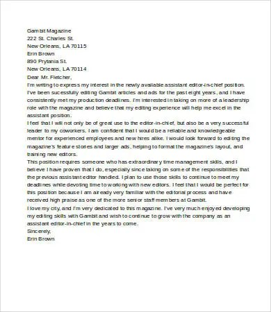 6+ Sample Letter Of Interest - Free Sample, Example, Format Free - sample letter of interest
