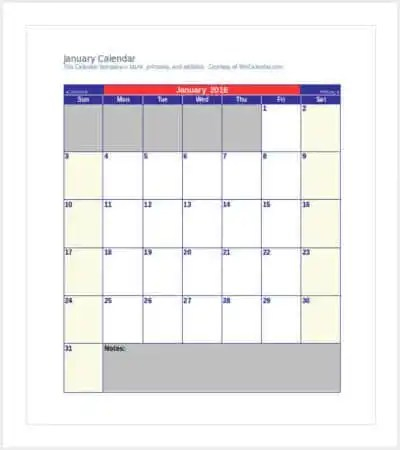 36+ Calendar Template Free  Premium Templates