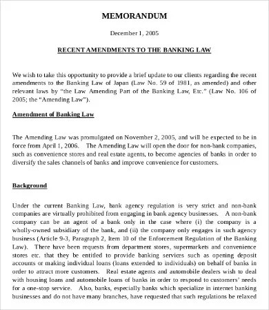 Investment Memo Template - 6+ Free Word, PDF Documents Download - board memo templates