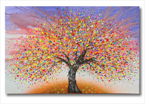 9 Beautiful Tree Paintings Free Sample Example Format