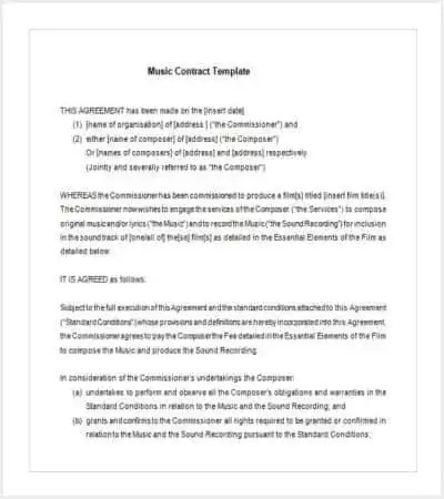47+ Contract Templates - Word, Docs, Pages Free  Premium Templates