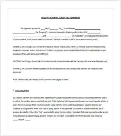 42+ Contract Templates Free  Premium Templates - microsoft word contract template free