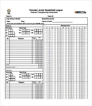 score sheet - Bindrdnwaterefficiency