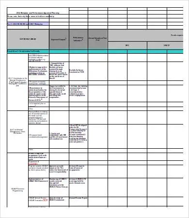 Excel Work Plan Template - 12+ Free Excel Documents Download Free
