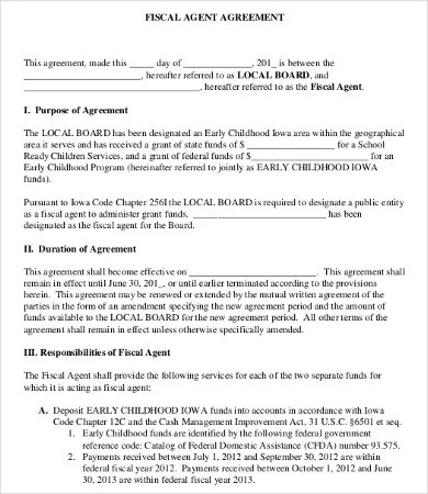 business agency agreement - solarfm - business agency agreement template