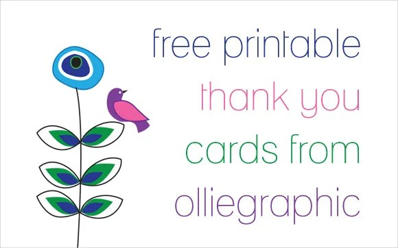 9+ Printable Thank You Card Templates - Free Sample, Example, Format