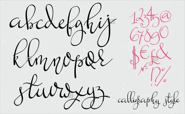 9+ Handwriting Fonts - Free Sample, Example, Format Free  Premium